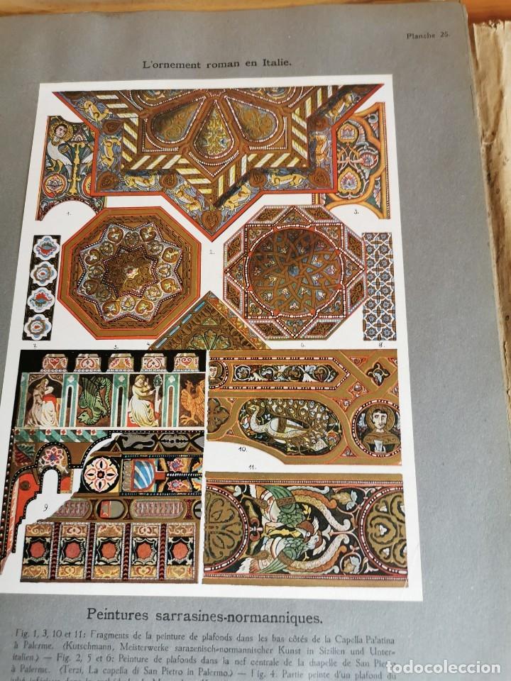 Libros antiguos: 60 LÁMINAS POLICROMADAS ALEXANDER SPELTZ LORNEMENT POLYCHROME MOYEN AGE 1915 LEIPZIG - Foto 17 - 181630186