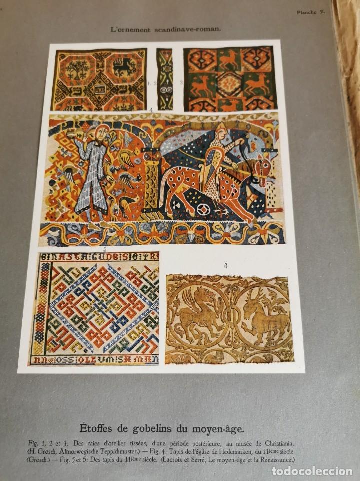 Libros antiguos: 60 LÁMINAS POLICROMADAS ALEXANDER SPELTZ LORNEMENT POLYCHROME MOYEN AGE 1915 LEIPZIG - Foto 18 - 181630186