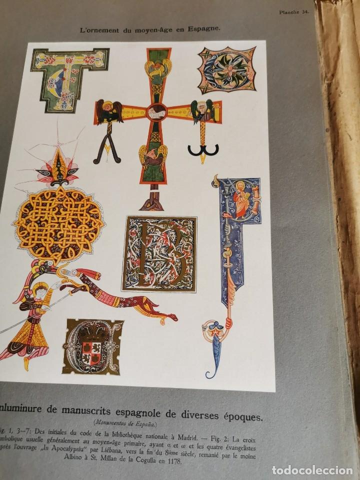 Libros antiguos: 60 LÁMINAS POLICROMADAS ALEXANDER SPELTZ LORNEMENT POLYCHROME MOYEN AGE 1915 LEIPZIG - Foto 19 - 181630186