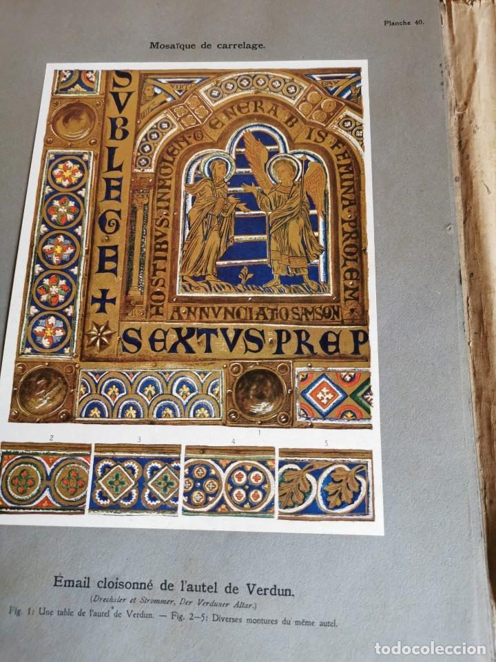 Libros antiguos: 60 LÁMINAS POLICROMADAS ALEXANDER SPELTZ LORNEMENT POLYCHROME MOYEN AGE 1915 LEIPZIG - Foto 20 - 181630186