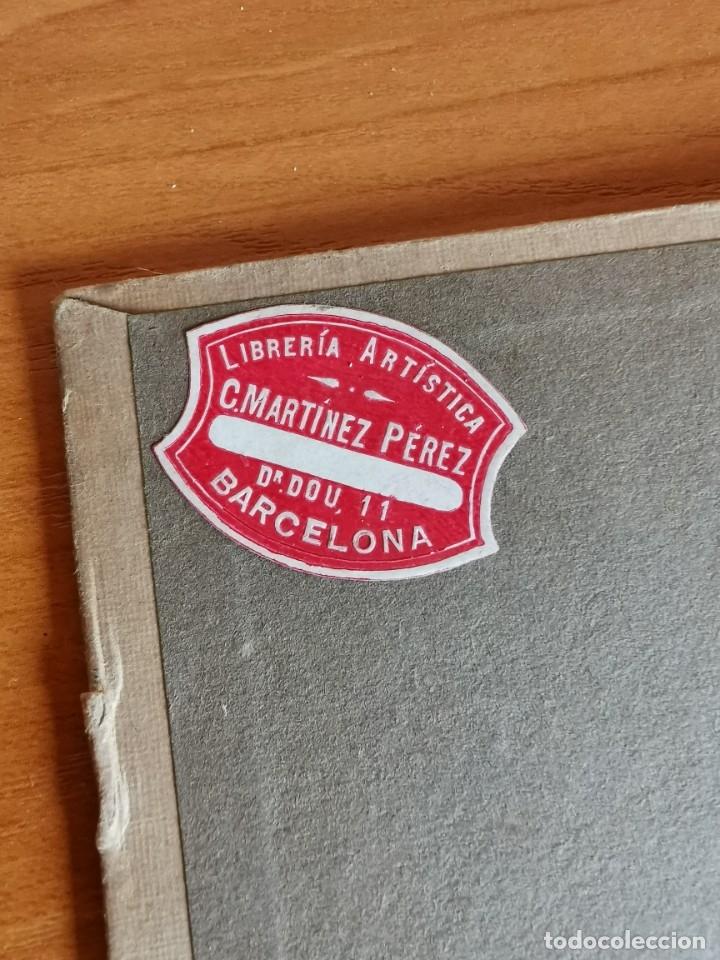 Libros antiguos: 60 LÁMINAS POLICROMADAS ALEXANDER SPELTZ LORNEMENT POLYCHROME MOYEN AGE 1915 LEIPZIG - Foto 2 - 181630186