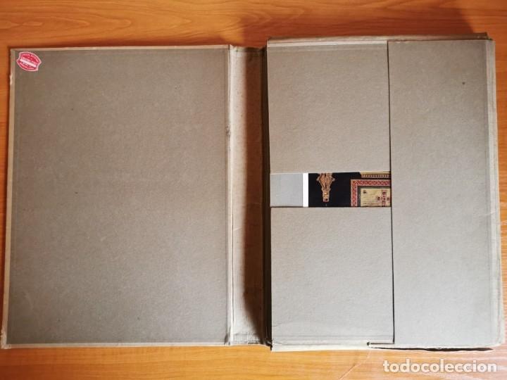Libros antiguos: 60 LÁMINAS POLICROMADAS ALEXANDER SPELTZ LORNEMENT POLYCHROME MOYEN AGE 1915 LEIPZIG - Foto 3 - 181630186