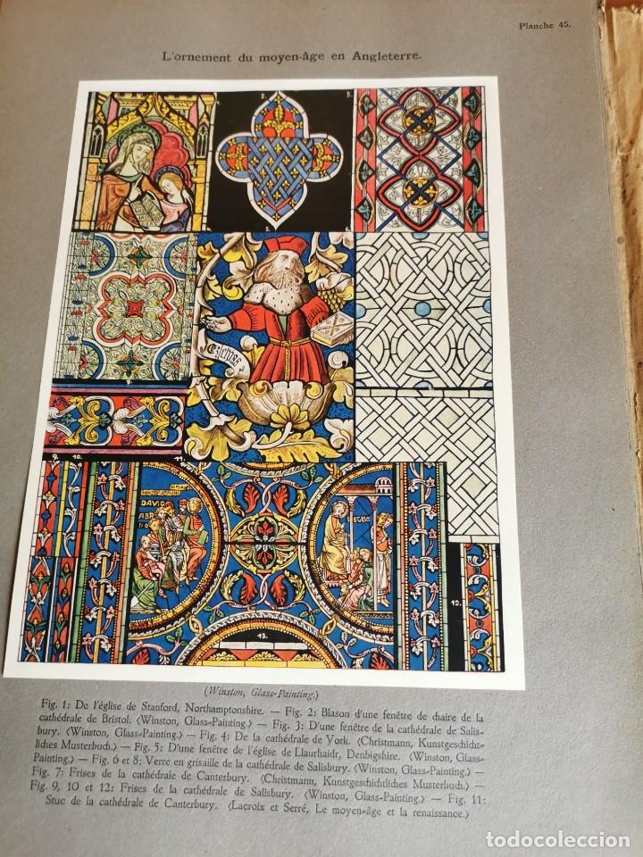 Libros antiguos: 60 LÁMINAS POLICROMADAS ALEXANDER SPELTZ LORNEMENT POLYCHROME MOYEN AGE 1915 LEIPZIG - Foto 22 - 181630186