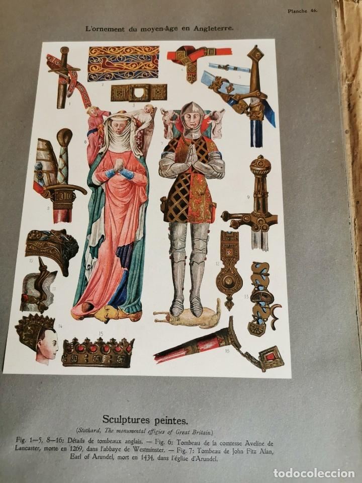Libros antiguos: 60 LÁMINAS POLICROMADAS ALEXANDER SPELTZ LORNEMENT POLYCHROME MOYEN AGE 1915 LEIPZIG - Foto 23 - 181630186