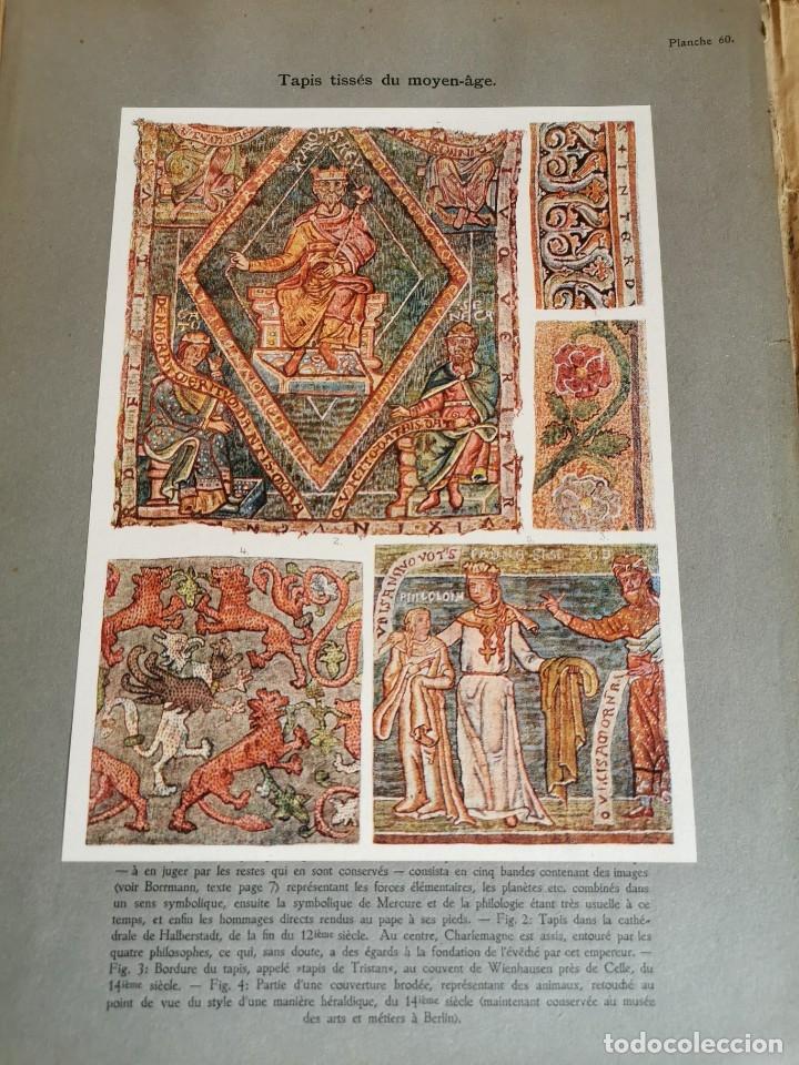 Libros antiguos: 60 LÁMINAS POLICROMADAS ALEXANDER SPELTZ LORNEMENT POLYCHROME MOYEN AGE 1915 LEIPZIG - Foto 30 - 181630186