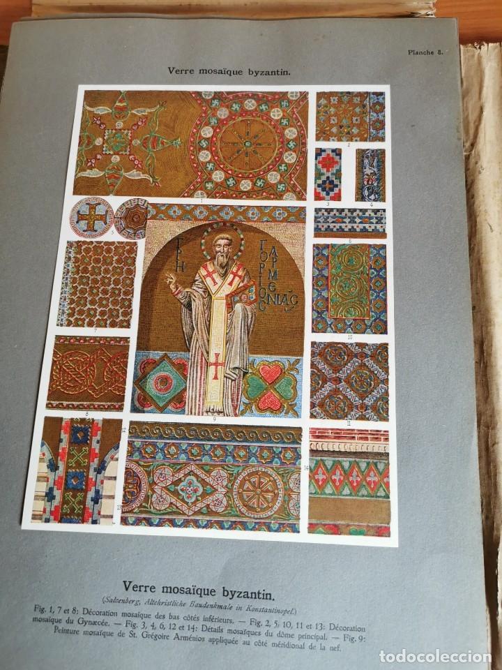 Libros antiguos: 60 LÁMINAS POLICROMADAS ALEXANDER SPELTZ LORNEMENT POLYCHROME MOYEN AGE 1915 LEIPZIG - Foto 13 - 181630186