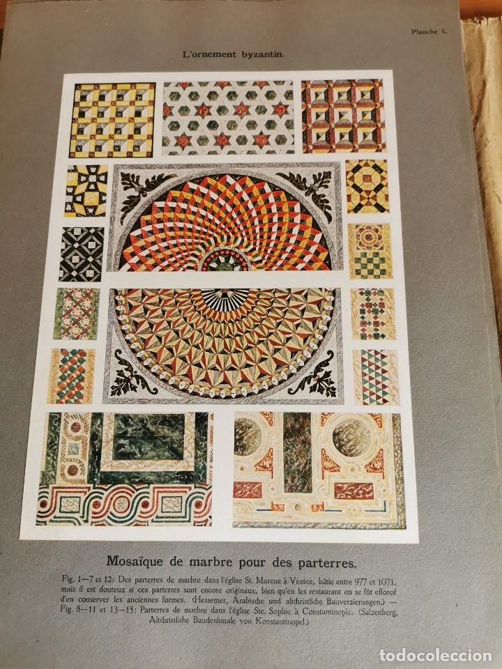 Libros antiguos: 60 LÁMINAS POLICROMADAS ALEXANDER SPELTZ LORNEMENT POLYCHROME MOYEN AGE 1915 LEIPZIG - Foto 12 - 181630186