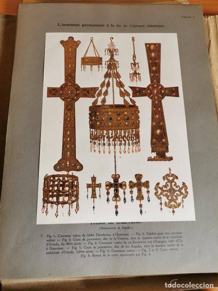Libros antiguos: 60 LÁMINAS POLICROMADAS ALEXANDER SPELTZ LORNEMENT POLYCHROME MOYEN AGE 1915 LEIPZIG - Foto 7 - 181630186