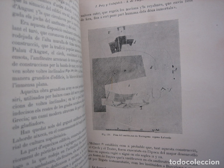 Libros antiguos: L'ARQUITECTURA ROMANICA A CATALUNYA – PUIG Y CADAFALCH, ANTONI DE FALGUERA, GODAY Y CASALS – 1909 - Foto 6 - 182428827