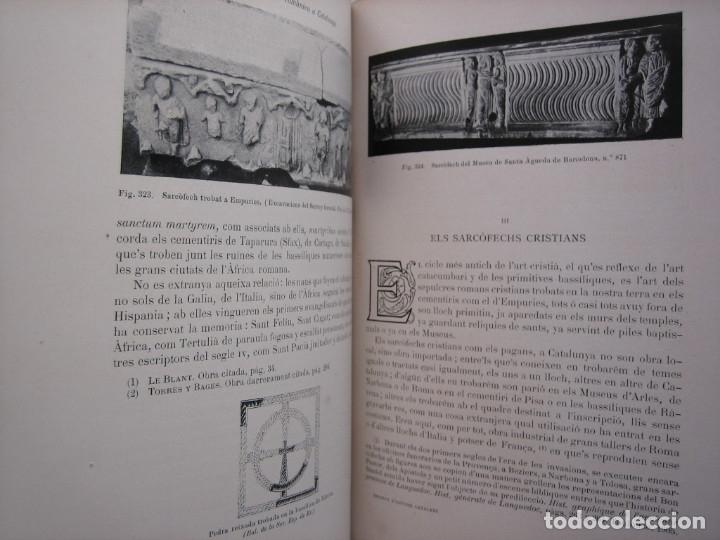 Libros antiguos: L'ARQUITECTURA ROMANICA A CATALUNYA – PUIG Y CADAFALCH, ANTONI DE FALGUERA, GODAY Y CASALS – 1909 - Foto 9 - 182428827