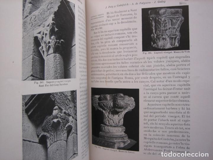 Libros antiguos: L'ARQUITECTURA ROMANICA A CATALUNYA – PUIG Y CADAFALCH, ANTONI DE FALGUERA, GODAY Y CASALS – 1909 - Foto 10 - 182428827