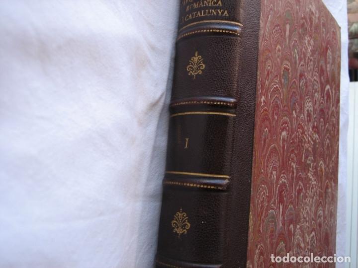 Libros antiguos: L'ARQUITECTURA ROMANICA A CATALUNYA – PUIG Y CADAFALCH, ANTONI DE FALGUERA, GODAY Y CASALS – 1909 - Foto 11 - 182428827