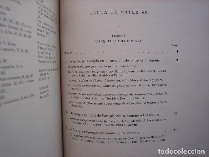 Libros antiguos: L'ARQUITECTURA ROMANICA A CATALUNYA – PUIG Y CADAFALCH, ANTONI DE FALGUERA, GODAY Y CASALS – 1909 - Foto 12 - 182428827