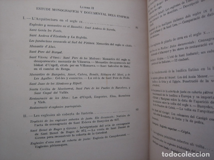 Libros antiguos: L'ARQUITECTURA ROMANICA A CATALUNYA – PUIG Y CADAFALCH, ANTONI DE FALGUERA, GODAY Y CASALS – 1909 - Foto 17 - 182428827