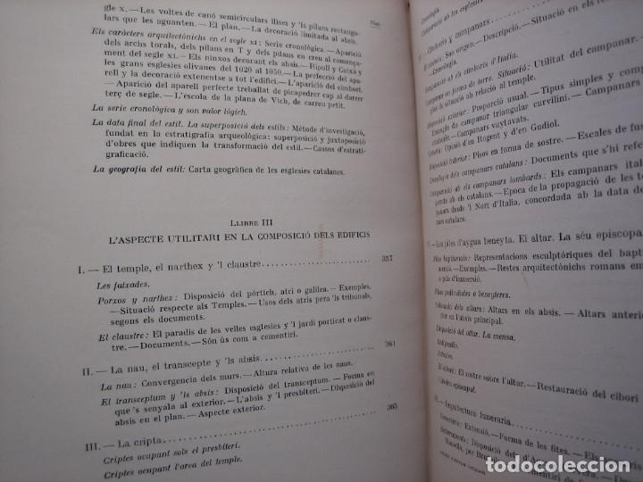 Libros antiguos: L'ARQUITECTURA ROMANICA A CATALUNYA – PUIG Y CADAFALCH, ANTONI DE FALGUERA, GODAY Y CASALS – 1909 - Foto 18 - 182428827