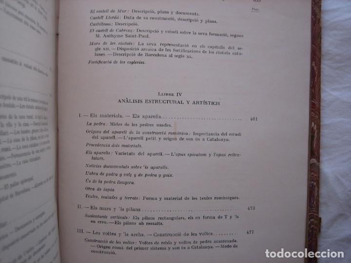 Libros antiguos: L'ARQUITECTURA ROMANICA A CATALUNYA – PUIG Y CADAFALCH, ANTONI DE FALGUERA, GODAY Y CASALS – 1909 - Foto 19 - 182428827