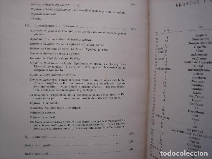 Libros antiguos: L'ARQUITECTURA ROMANICA A CATALUNYA – PUIG Y CADAFALCH, ANTONI DE FALGUERA, GODAY Y CASALS – 1909 - Foto 20 - 182428827