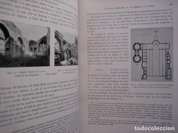 Libros antiguos: L'ARQUITECTURA ROMANICA A CATALUNYA – PUIG Y CADAFALCH, ANTONI DE FALGUERA, GODAY Y CASALS – 1909 - Foto 21 - 182428827