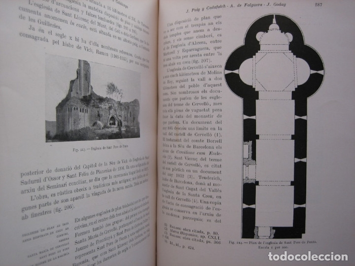 Libros antiguos: L'ARQUITECTURA ROMANICA A CATALUNYA – PUIG Y CADAFALCH, ANTONI DE FALGUERA, GODAY Y CASALS – 1909 - Foto 22 - 182428827