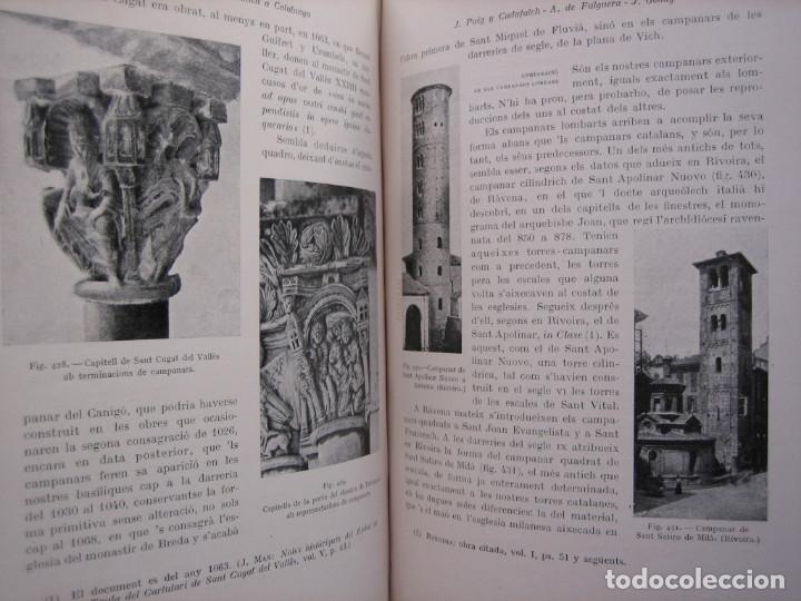 Libros antiguos: L'ARQUITECTURA ROMANICA A CATALUNYA – PUIG Y CADAFALCH, ANTONI DE FALGUERA, GODAY Y CASALS – 1909 - Foto 23 - 182428827