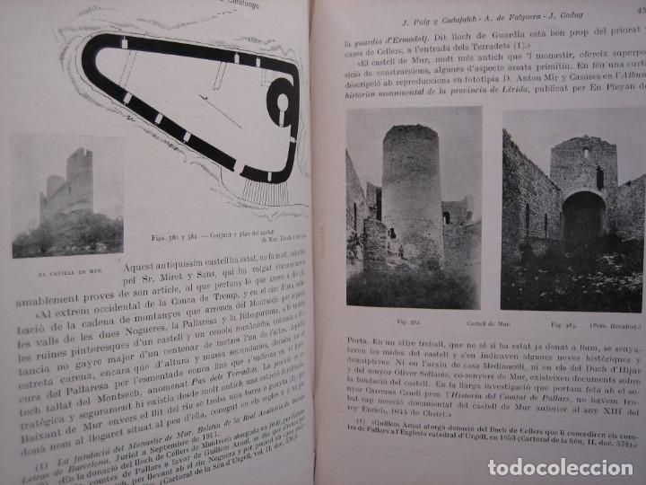 Libros antiguos: L'ARQUITECTURA ROMANICA A CATALUNYA – PUIG Y CADAFALCH, ANTONI DE FALGUERA, GODAY Y CASALS – 1909 - Foto 24 - 182428827