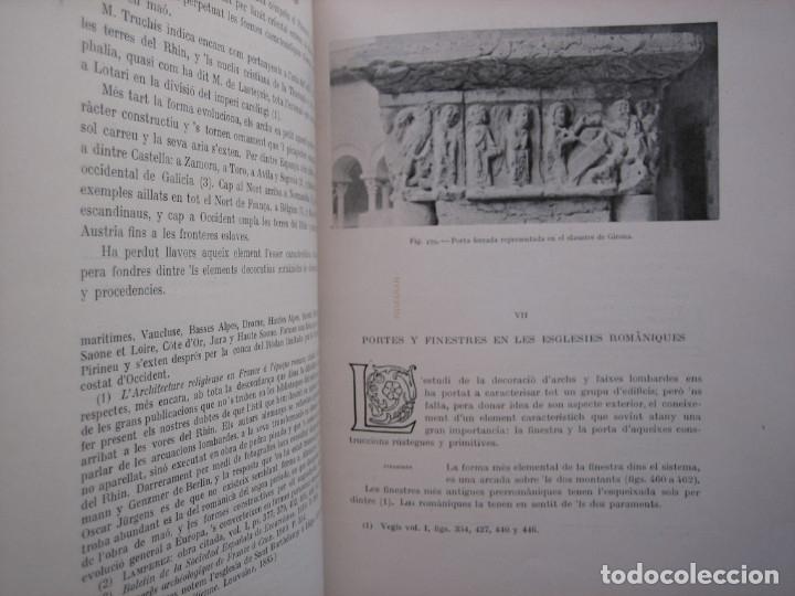 Libros antiguos: L'ARQUITECTURA ROMANICA A CATALUNYA – PUIG Y CADAFALCH, ANTONI DE FALGUERA, GODAY Y CASALS – 1909 - Foto 25 - 182428827