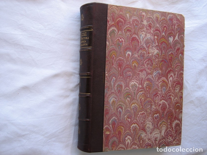Libros antiguos: L'ARQUITECTURA ROMANICA A CATALUNYA – PUIG Y CADAFALCH, ANTONI DE FALGUERA, GODAY Y CASALS – 1909 - Foto 27 - 182428827