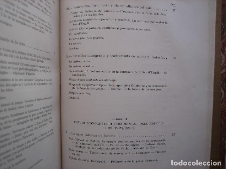 Libros antiguos: L'ARQUITECTURA ROMANICA A CATALUNYA – PUIG Y CADAFALCH, ANTONI DE FALGUERA, GODAY Y CASALS – 1909 - Foto 30 - 182428827