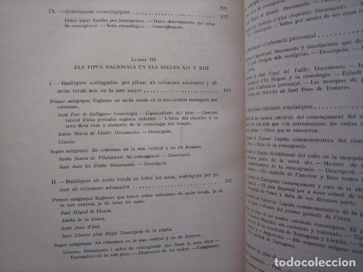 Libros antiguos: L'ARQUITECTURA ROMANICA A CATALUNYA – PUIG Y CADAFALCH, ANTONI DE FALGUERA, GODAY Y CASALS – 1909 - Foto 31 - 182428827