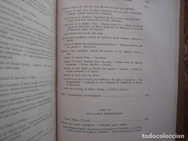 Libros antiguos: L'ARQUITECTURA ROMANICA A CATALUNYA – PUIG Y CADAFALCH, ANTONI DE FALGUERA, GODAY Y CASALS – 1909 - Foto 32 - 182428827