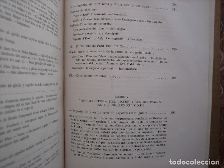 Libros antiguos: L'ARQUITECTURA ROMANICA A CATALUNYA – PUIG Y CADAFALCH, ANTONI DE FALGUERA, GODAY Y CASALS – 1909 - Foto 33 - 182428827