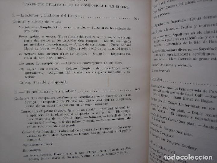 Libros antiguos: L'ARQUITECTURA ROMANICA A CATALUNYA – PUIG Y CADAFALCH, ANTONI DE FALGUERA, GODAY Y CASALS – 1909 - Foto 34 - 182428827