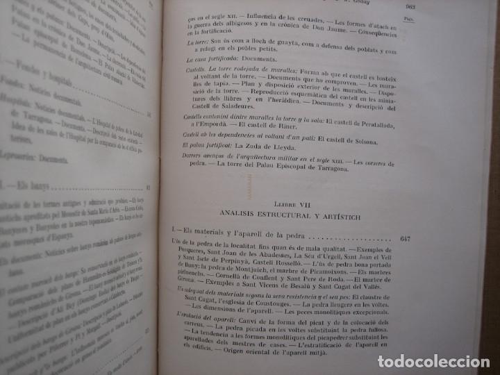 Libros antiguos: L'ARQUITECTURA ROMANICA A CATALUNYA – PUIG Y CADAFALCH, ANTONI DE FALGUERA, GODAY Y CASALS – 1909 - Foto 35 - 182428827