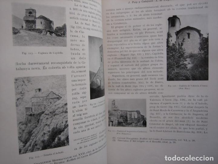 Libros antiguos: L'ARQUITECTURA ROMANICA A CATALUNYA – PUIG Y CADAFALCH, ANTONI DE FALGUERA, GODAY Y CASALS – 1909 - Foto 36 - 182428827