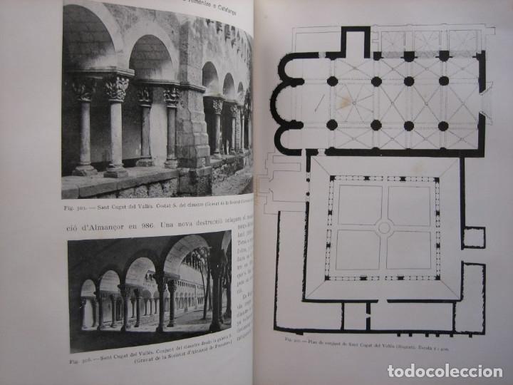 Libros antiguos: L'ARQUITECTURA ROMANICA A CATALUNYA – PUIG Y CADAFALCH, ANTONI DE FALGUERA, GODAY Y CASALS – 1909 - Foto 38 - 182428827