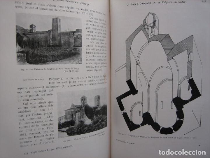 Libros antiguos: L'ARQUITECTURA ROMANICA A CATALUNYA – PUIG Y CADAFALCH, ANTONI DE FALGUERA, GODAY Y CASALS – 1909 - Foto 39 - 182428827