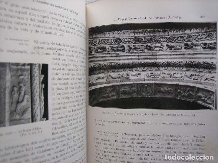 Libros antiguos: L'ARQUITECTURA ROMANICA A CATALUNYA – PUIG Y CADAFALCH, ANTONI DE FALGUERA, GODAY Y CASALS – 1909 - Foto 43 - 182428827