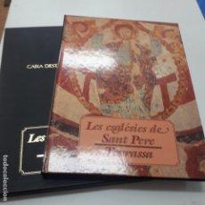Libros antiguos: LES ESGLESIES DE SANT PERE TERRASSA . Lote 183281268