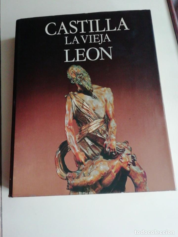 CASTILLA LA VIEJA LEÓN (Libros Antiguos, Raros y Curiosos - Bellas artes, ocio y coleccion - Arquitectura)