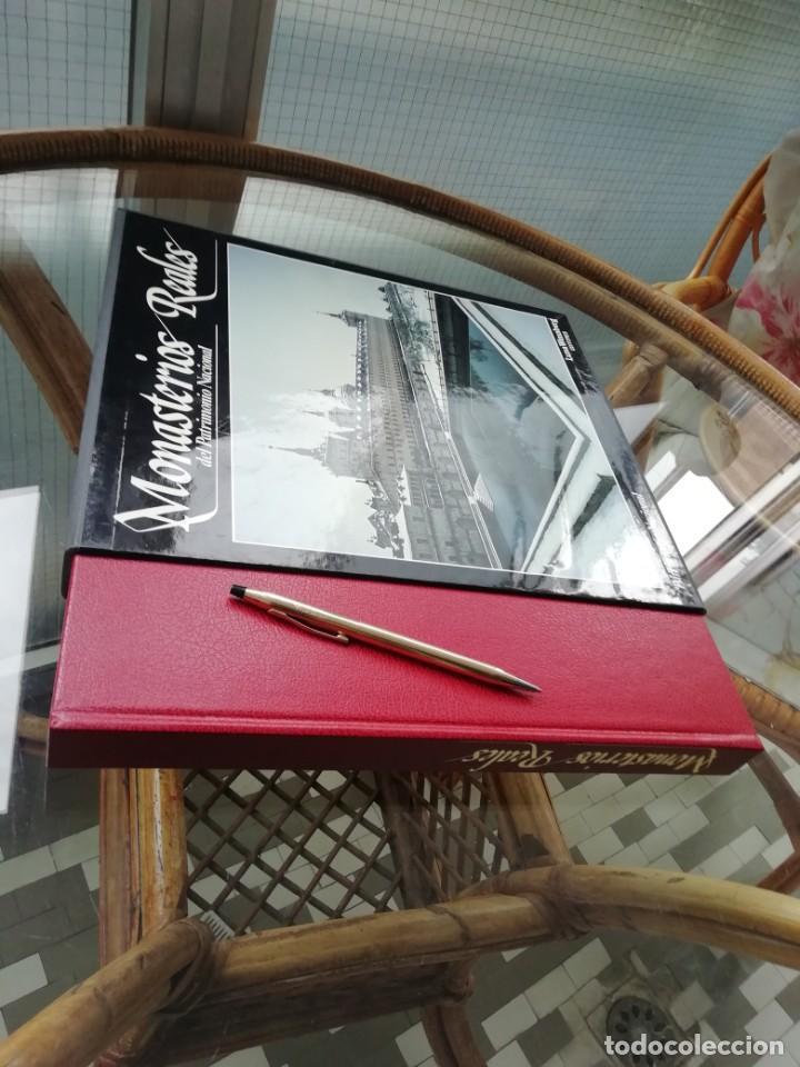 MONASTERIOS REALES DEL PATRIMONIO NACIONAL (Libros Antiguos, Raros y Curiosos - Bellas artes, ocio y coleccion - Arquitectura)