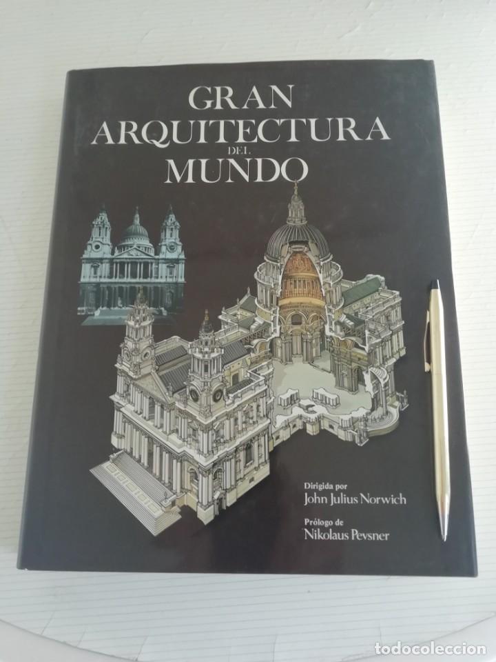 GRAN ARQUITECTURA DEL MUNDO (Libros Antiguos, Raros y Curiosos - Bellas artes, ocio y coleccion - Arquitectura)