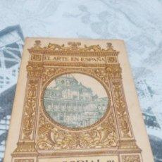 Libros antiguos: LIBRO EL ARTE EN ESPAÑA, ESCORIAL 2°. COLECCIÓN THOMAS . Lote 186085603