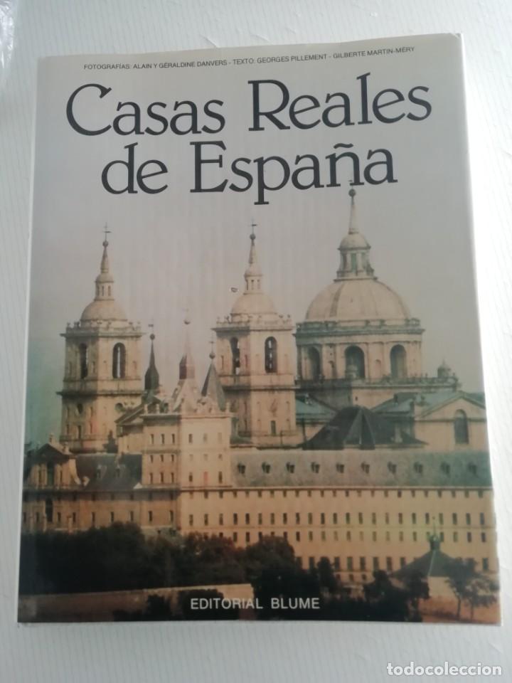 CASAS REALES DE ESPAÑA (Libros Antiguos, Raros y Curiosos - Bellas artes, ocio y coleccion - Arquitectura)