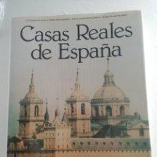 Libros antiguos: CASAS REALES DE ESPAÑA. Lote 189142768