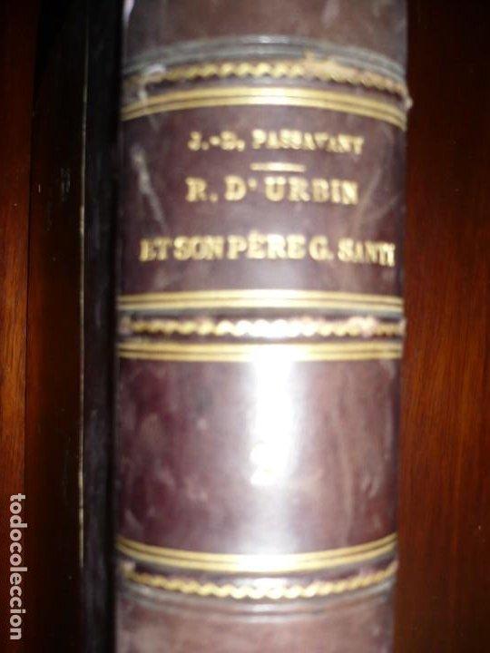 Libros antiguos: RAPHAEL DURBIN ET SON PERE GIOVANNI SANTI J-D PASSAVANT 1860 PARIS TOMO 2º - Foto 11 - 189963688