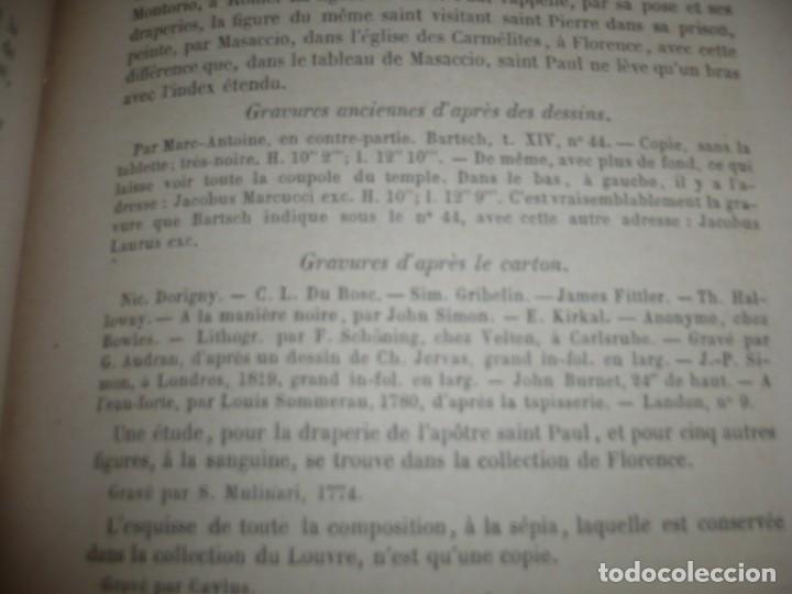 Libros antiguos: RAPHAEL DURBIN ET SON PERE GIOVANNI SANTI J-D PASSAVANT 1860 PARIS TOMO 2º - Foto 8 - 189963688