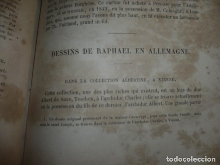 Libros antiguos: RAPHAEL DURBIN ET SON PERE GIOVANNI SANTI J-D PASSAVANT 1860 PARIS TOMO 2º - Foto 9 - 189963688