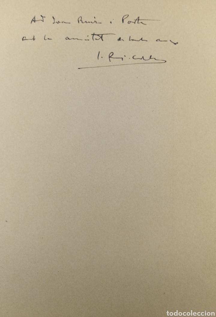 Libros antiguos: La plaça de Catalunya 1927 FIRMADO por el arquitecto Puig y Cadafalch - Foto 3 - 190596865