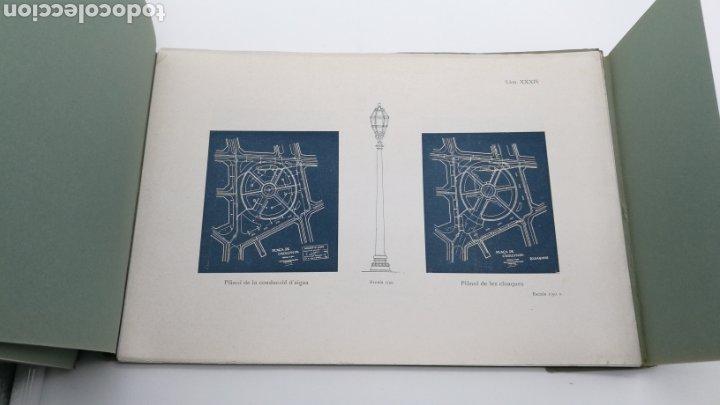 Libros antiguos: La plaça de Catalunya 1927 FIRMADO por el arquitecto Puig y Cadafalch - Foto 4 - 190596865