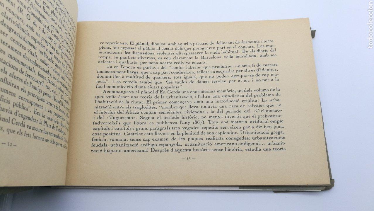 Libros antiguos: La plaça de Catalunya 1927 FIRMADO por el arquitecto Puig y Cadafalch - Foto 6 - 190596865